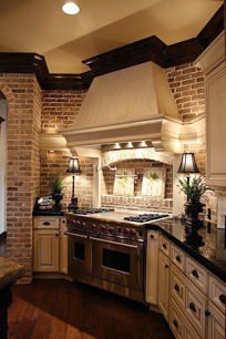 Oak Construction - Interior Brick